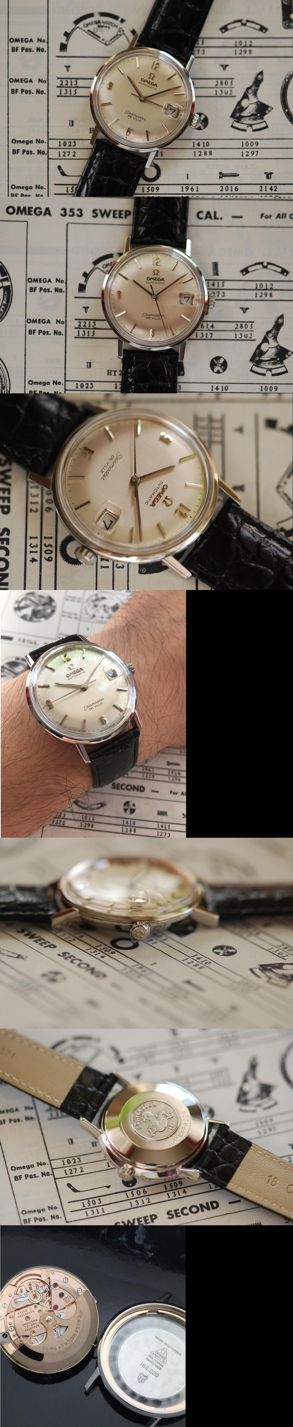 1964 Omega Seamaster DeVille Automatic Vintage Gent's Watch Vintage