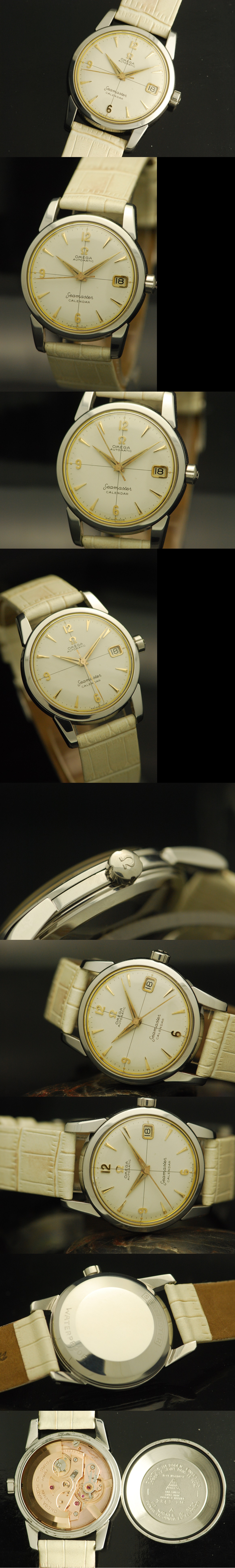 1955 Omega Seamaster Automatic Calendar Vintage Gent's Watch