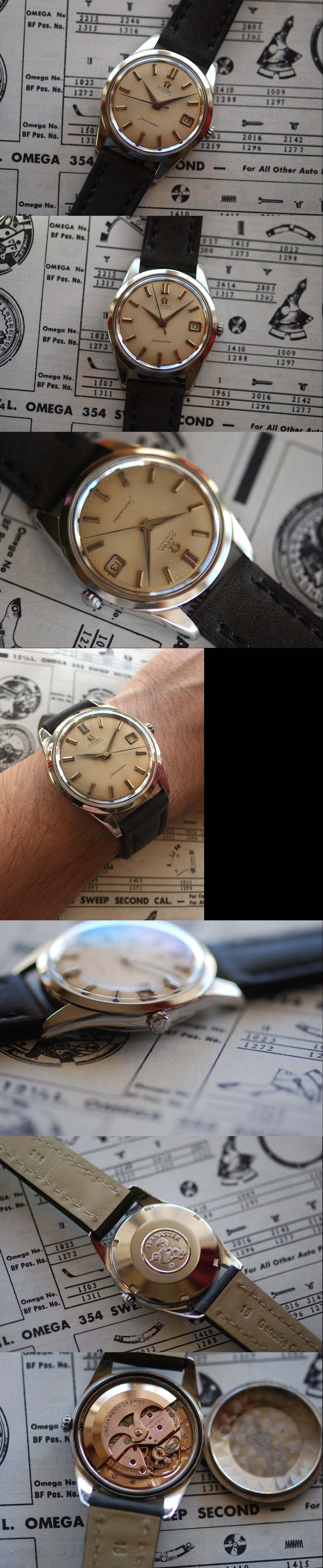 1961 Omega Seamaster Calendar Automatic Vintage Gent's Watch