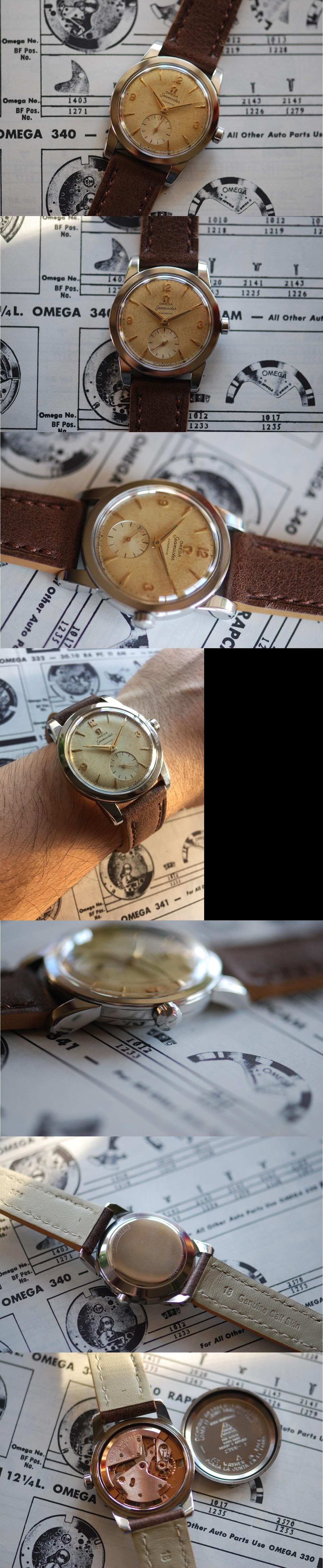 1954 Omega Seamaster Sub Sec Automatic Vintage Gent's Watch Vintage