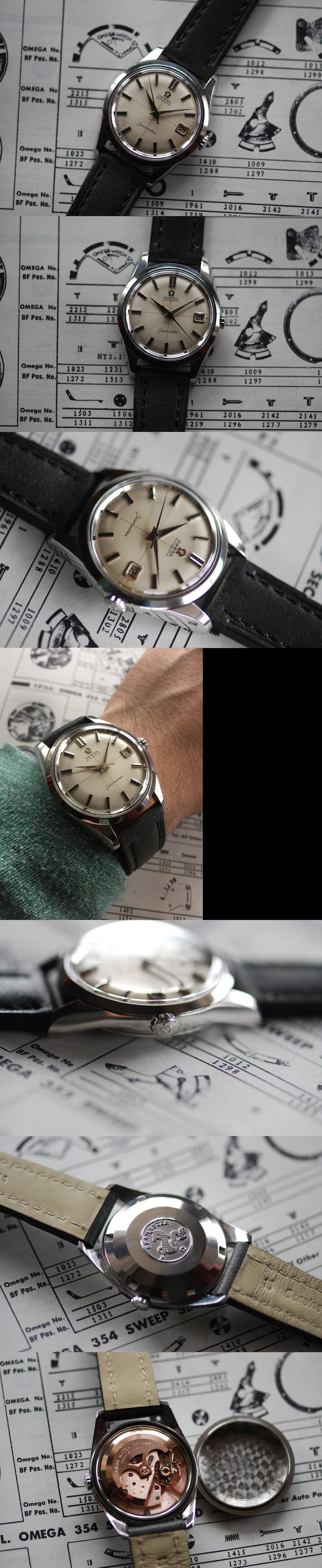 1960 Omega Seamaster Calendar Vintage Gents Watch