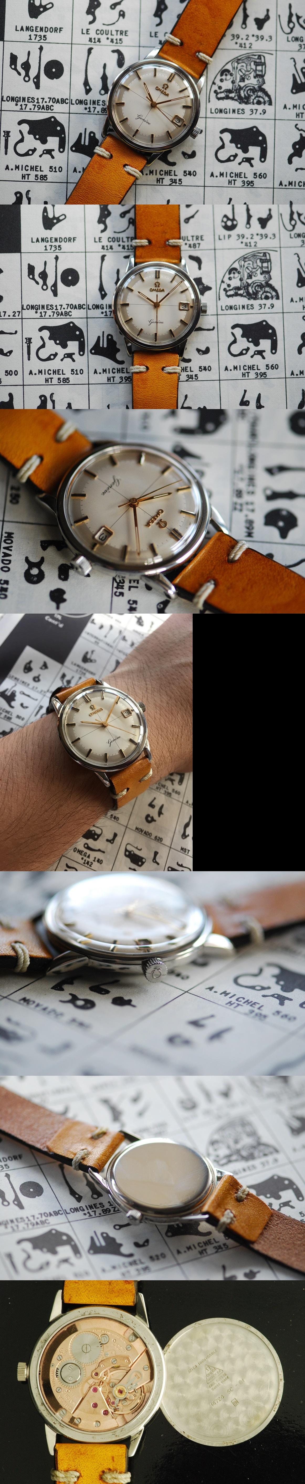 1960 Omega Geneve Vintage Gent's Watch