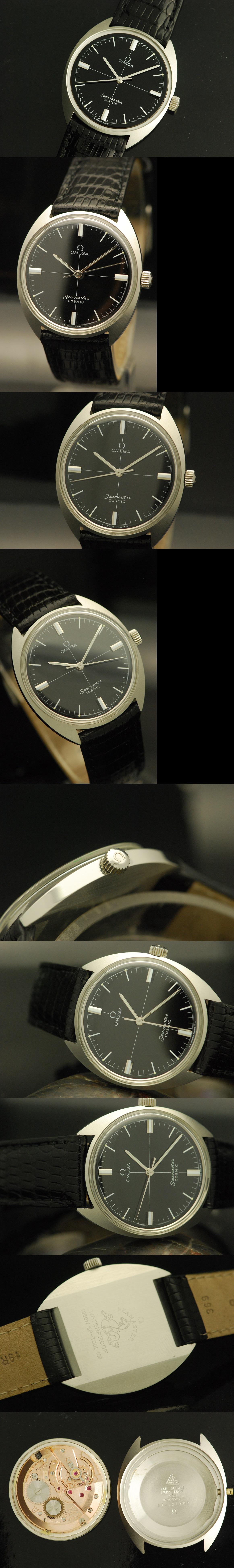1969 Omega Seamaster Cosmic Vintage Gent's Watch Vintage
