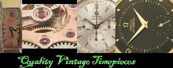 Quality Vintage Timepieces - Place to buy your Quality and Restored vintage watches